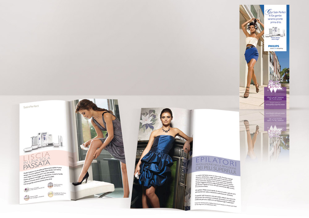 Leaflet Satin Perfect