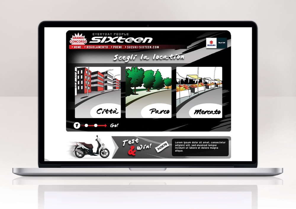 Promotional site
